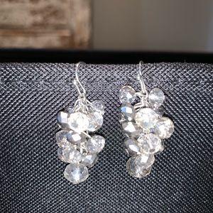 Vera wang from Kohl's beaded drop earrings